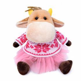 Мягкая игрушка «Коровка Ганя Герефорд», 17 см