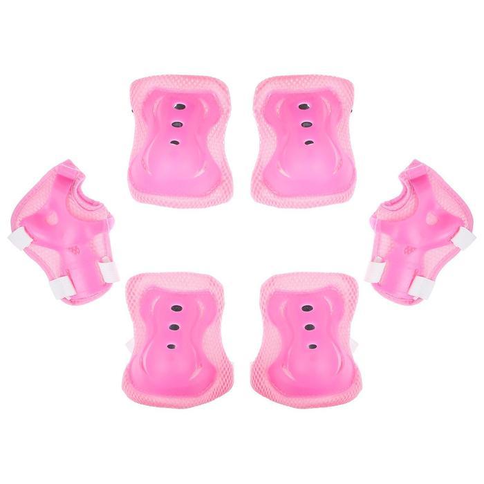 Защита роликовая OT-2020 р М, розовая