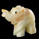 """Сувенир """"Слон"""", 5,5х4х2 см,оникс"""