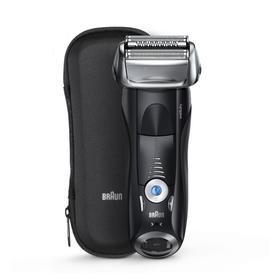 Бритва Braun 7842s, сеточная, сухое/влажное бритьё, от аккумулятора, футляр, чёрная
