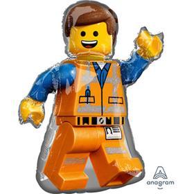 """Шар фольгированный 32"""" «Лего. Человечек Эммет», фигура"""