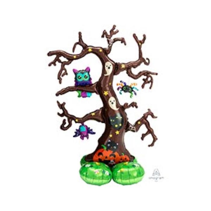 """Шар фольгированный 62"""" «Дерево», фигура - фото 3157715"""