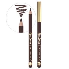 Карандаш для глаз Art-Visage Eye liner, тон 11 коричневый
