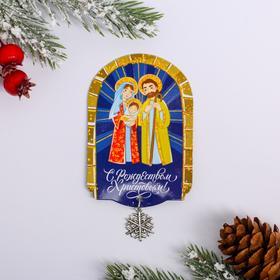 "Magnet with ""Nativity Scene"" element, 5.5 x 8 cm"
