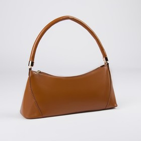 Women's Assol bag, 3*9*14, zippered otd, brown