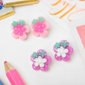 """Clip children """"Vibracula"""" flowers MIX color"""