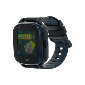"""Смарт-часы Jet KID Vision 4G, цветной дисплей 1.44"""", SIM-карта, камера, чёрно-серые"""