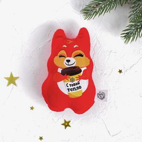 """Soft toy-magnet """" with you warmly"""""""