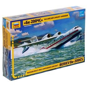 Сборная модель «Российский самолёт-амфибия Бе-200ЧС»