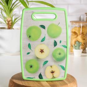 {{photo.Alt || photo.Description || 'Доска разделочная прямоугольная Доляна «Зелёные яблоки», 30×20 см'}}