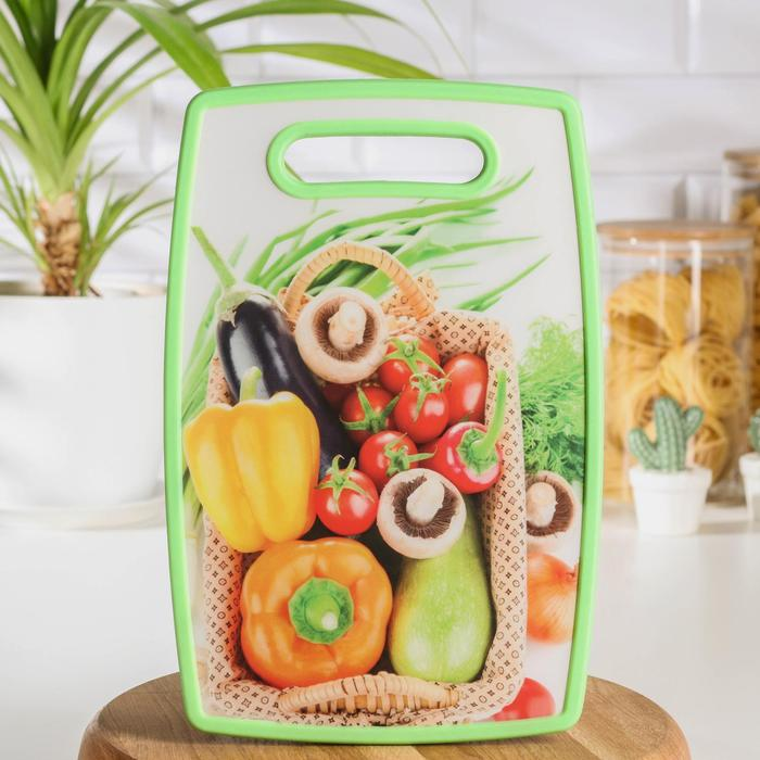 "Rectangular cutting Board 30x20 cm "" Harvest"""