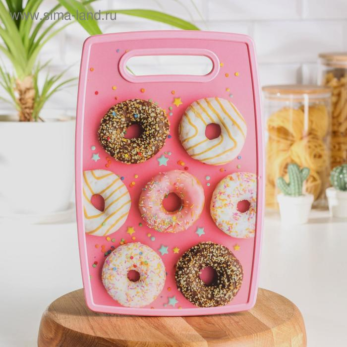 "Rectangular cutting Board 30x20 cm "" Sweets"""
