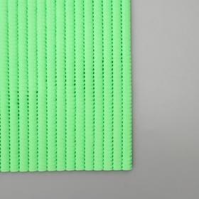 Набор ковриков для ванны и туалета «Моно зелёный», 2 шт: 50×50, 50×80 см - фото 4653247