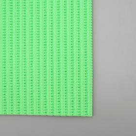 Набор ковриков для ванны и туалета «Моно зелёный», 2 шт: 50×50, 50×80 см - фото 4653248