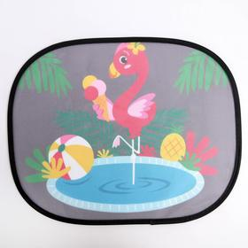 "Side window blinds ""Flamingo"", 2 PCs"