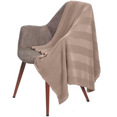 Плед Pleat, размер 110x170 см, цвет бежевый
