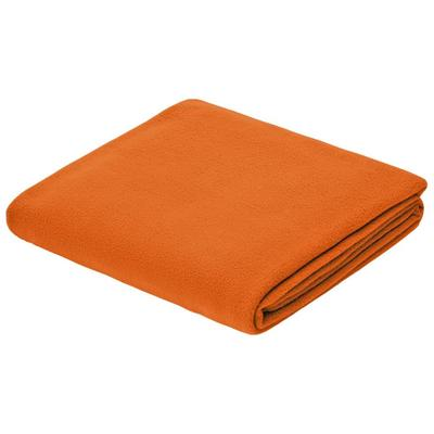 Warm&Peace fleece blanket, size 100x140 cm, color orange