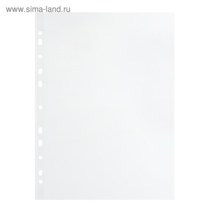 """Файл-вкладыш А4 25мкм """"Стандарт"""" глянцевый, упаковка 100 штук"""