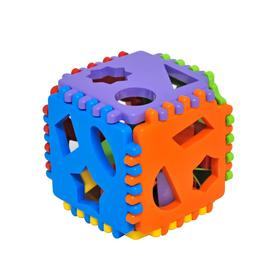 Игрушка-сортер развивающая Smart cube, 24 детали