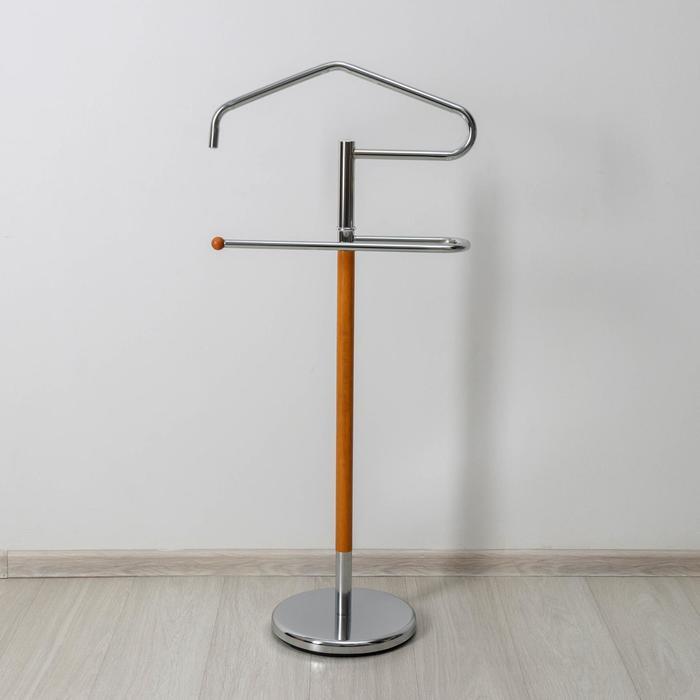 Вешалка напольная для одежды «Слуга», 29×48×109 см