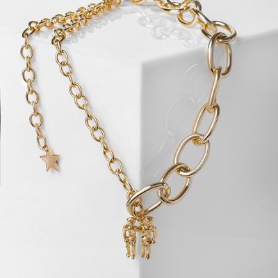 """Pendant """"Chain"""" pair, color gold"""