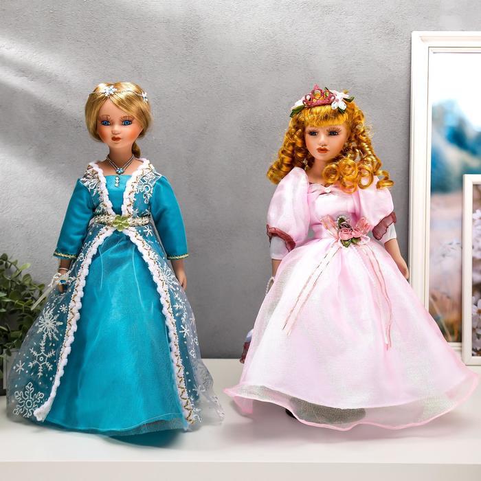 """Кукла коллекционная керамика Принцесса"""" МИКС 40 см"""