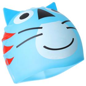 Шапочка для бассейна «Кошечка» детская, цвет МИКС