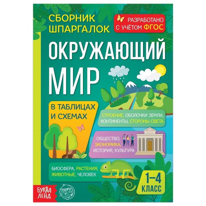 Сборник шпаргалок для 1-4 классов «Окружающий мир», 60 стр. - фото 76591866