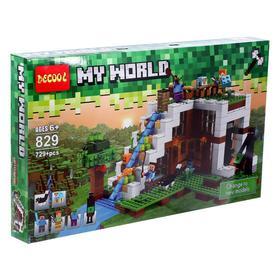 Конструктор Мой Мир «Подводный замок», 729 деталей