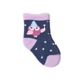 Носки детские, цвет синий, размер 10