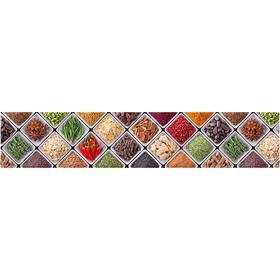 Кухонный фартук, композит,  КМ 101, 3000х610х3 мм