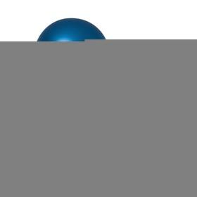 """Шар латексный 9"""" «Хром», металл, набор 100 шт., цвет синий"""