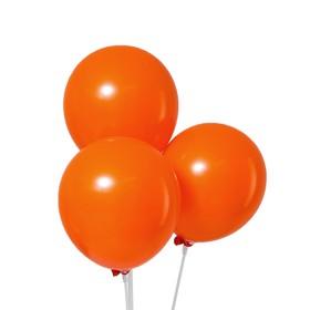 """Шар латексный 12"""", пастель, набор 50 шт., цвет оранжевый"""