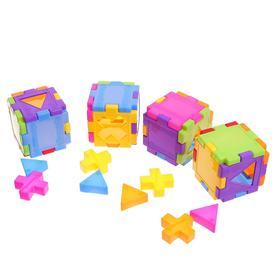 Конструктор-сортер «4 куба»