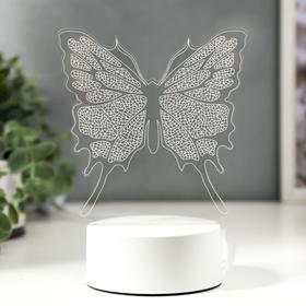 "Светильник ""Бабочка"" LED RGB от сети 9,5х13х17 см"