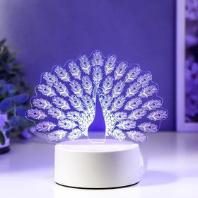 "Светильник ""Павлин"" LED RGB от сети"