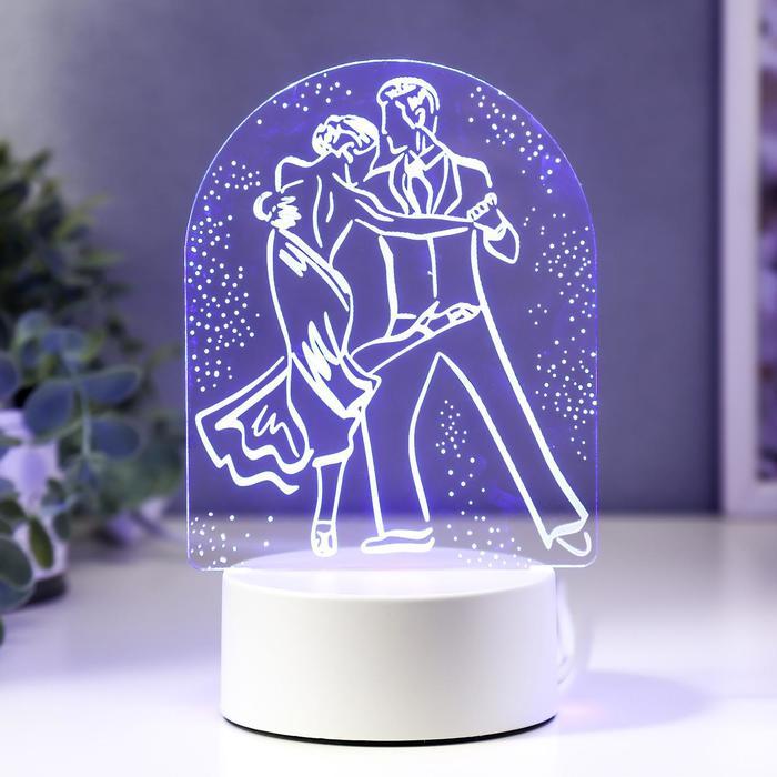 """Светильник """"Танго"""" LED RGB от сети 9,5х11,5х18,5 см"""