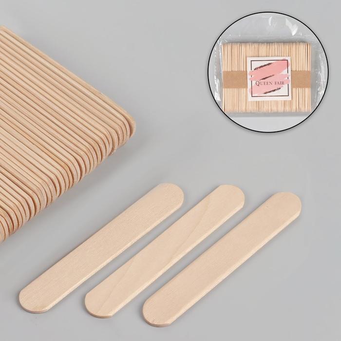 Шпатели для депиляции, деревянные, 8 × 1,4 см, 50 шт
