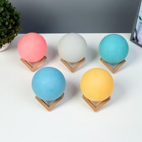 """Ночник """"Мячик"""" LED от батареек 3xLR44 белый 10х10х10 см"""