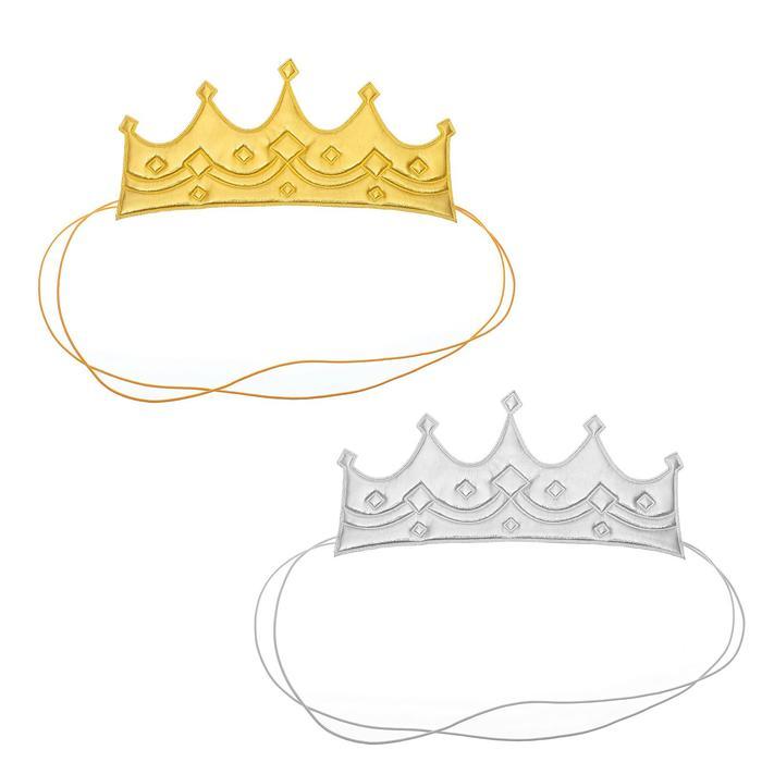 Корона «Царица», на резинке, цвета МИКС - фото 447987