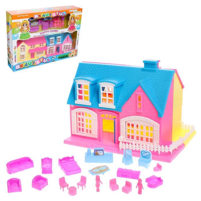 Дом для кукол «Создай уют», с аксессуарами