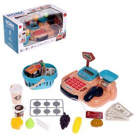Игровой набор касса-калькулятор «Минишоп» с аксессуарами
