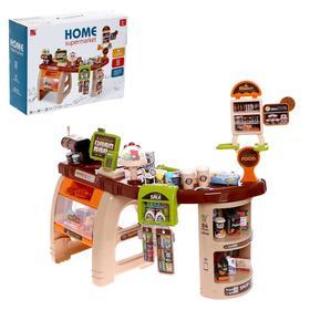Игровой модуль «Супермаркет», 52 предмета, со световыми и звуковыми эффектами