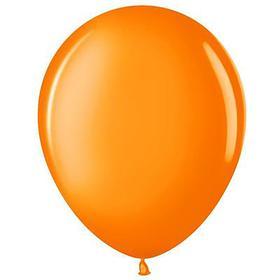 """Шар латексный 12"""", пастель, набор 25 шт., цвет оранжевый"""