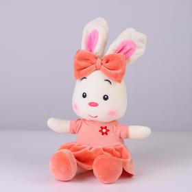 "Soft toy ""Bunny with a bow"" color MIX"