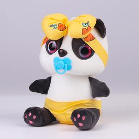 """Soft toy """"Panda with a pacifier"""" color MIX"""