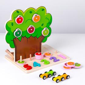 "Autotrek + educational games 4in1 ""Tree and numbers"" 22x17,5x23 cm"