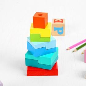Пирамидка «Ступеньки», 8 элементов