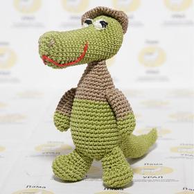 "Набор для вязания игрушки ""Крокодил Гена"" 18х15 см"