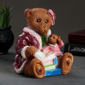 """Копилка """"Два медведя с книгами"""" 18х20см"""